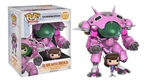 Funko POP! - Overwatch- D.va With MEKA #177