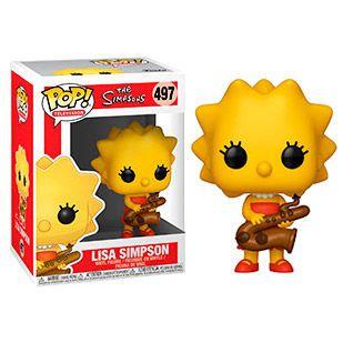 Funko POP! - The Simpsons- Lisa Simpson #497