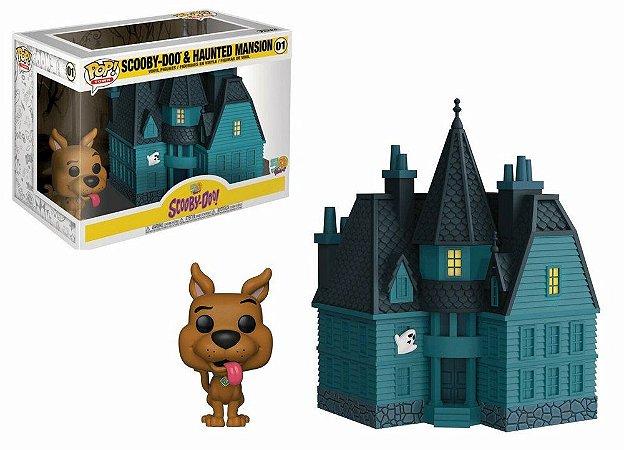 Funko POP! - Scooby Doo- Scooby com a mansão fantasma #01
