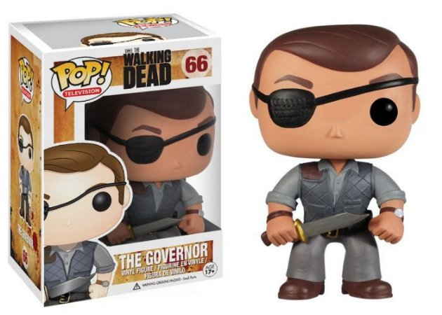 Funko POP! The Walking Dead- The Governor #66