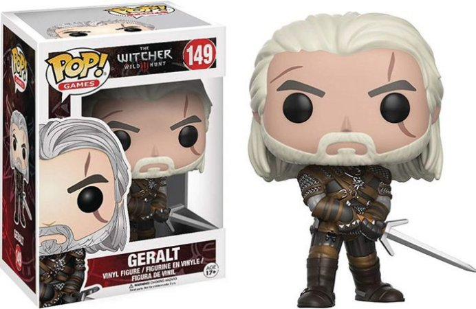 Funko POP! The Witcher- Geralt #149