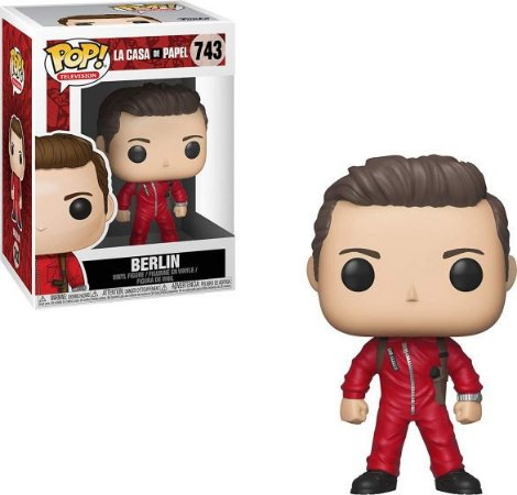 Funko POP! La Casa de Papel- Berlin #743