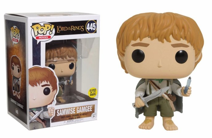 Funko POP! Lord Of The Rings- Samwise Gamgee #445 (Brilha no escuro)