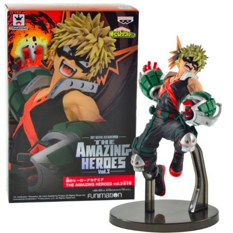 Katsuki Bakugo- My Hero Academia - The Amazing Heroes Vol.3 - Banpresto