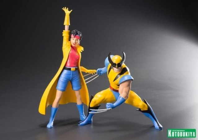 Wolverine & Jubilee: X-men 92 - Marvel (ArtFX) Escala1/10) (2-Pack) - Kotobukiya