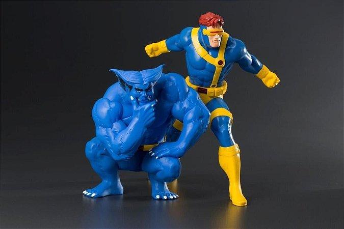 Ciclope e Fera 2-Pack: X-Men 92: 1/10 - Kotobukiya