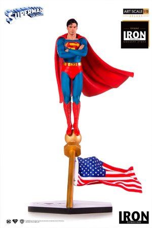 SUPERMAN 1978 DELUXE ART SCALE- Iron Studios