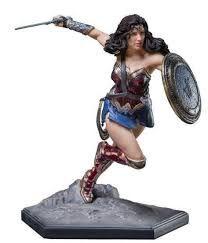 Wonder Woman 1/10 Art Scale - Justice League - Mulher Maravilha - Iron Studios