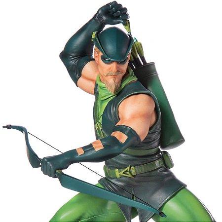 Arqueiro Verde (Green Arrow) 1/10 BDS Art Scale - DC Comics Serie 4 - Iron Studios