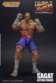 The Toyark Ultra Street Fighter II: The Final Challengers - Sagat Figure (STORM)