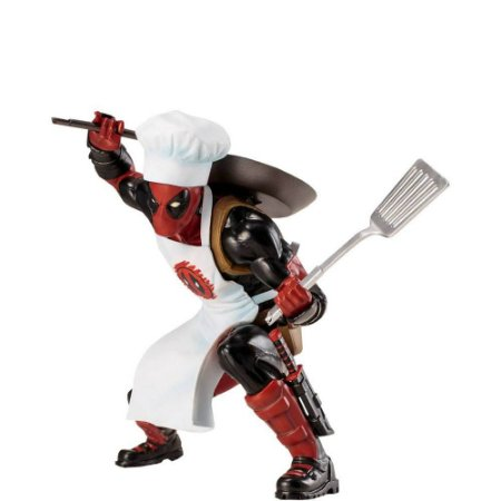 DEADPOOL (COOKING VER.) - ARTFX+ STATUE - KOTOBUKIYA