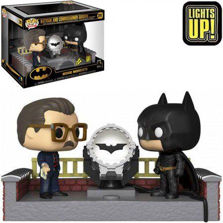 Funko Pop Heroes! Batman Begins - BATMAN 80 YEARS- Batman And Commissioner Gordon #291 Movie Moments