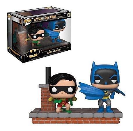 Funko POP! Comic Moments DC Batman And Robin #281 New Look Batman 1964