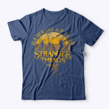 Camiseta Studio Geek- Hawkings Club- Stranger Things