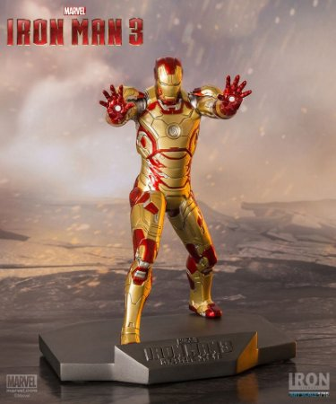 Homem De Ferro Mark Xlii 1/10 - Iron Man 3
