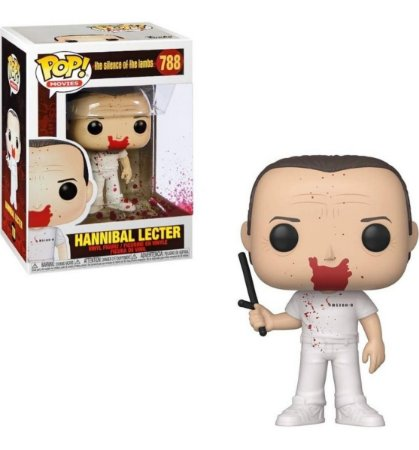Funko Pop! Hannibal (Bloody Version): O Silêncio dos Inocentes (Silence Of The Lambs) #788