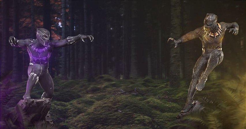 Pantera Negra  e Killmonger - 1/10 BDS Art Scale - Iron Studios