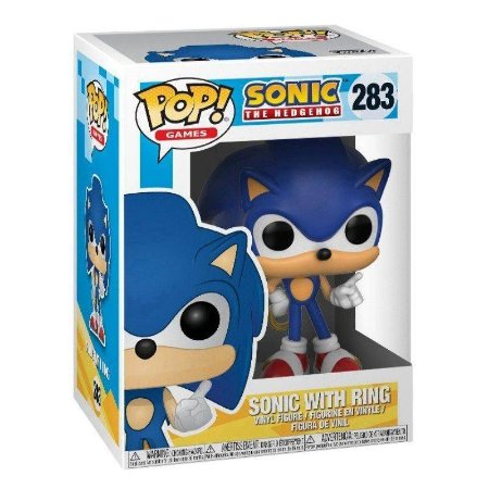 Funko Pop! Sonic With Ring - Sonic The Hedgehog - #283
