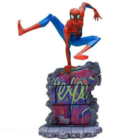 Peter B. Parker 1/10 BDS - Homem Aranha (Spider-Man: Into The Spider-Verse) - Iron studios