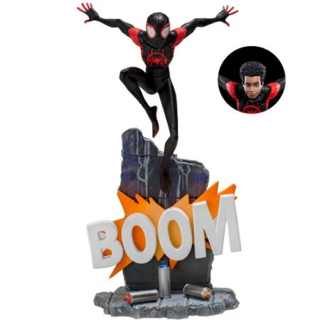 Miles Morales 1/10 BDS - Homem Aranha - Spider-Man: Into The Spider-Verse - Iron Studios