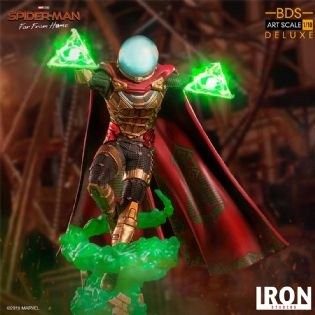 Mysterio Deluxe Bds 1/10 Homem Aranha - (Spider-man) Far From Home - Iron Studios