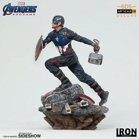 Capitão América (Captain America) - Deluxe 1/10 BDS - Avengers: Endgame - Iron Studios