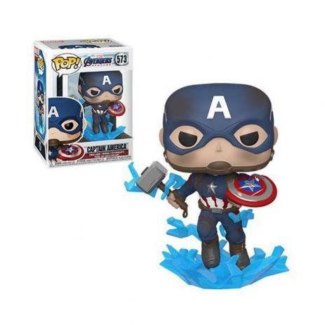 Funko Pop! Vingadores Ultimato - Capitão América Com Mjolnir #573