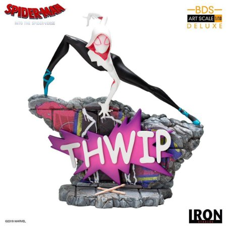 Spider-Gwen 1/10 BDS - Marvel Comics - Iron Studios