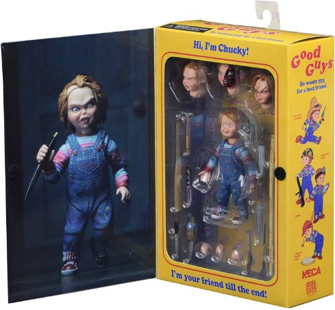 Chucky 4'' Scale - Action Figure - Ultimate Chucky - Neca