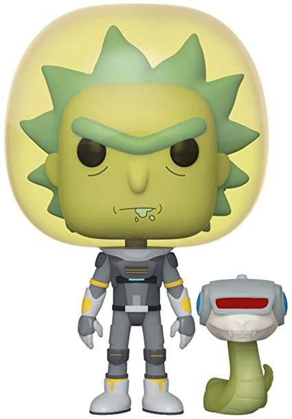 Funko Pop! Animation: Rick and Morty - Space Suit Rick w/ snake