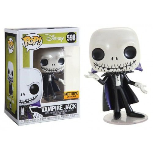 Funko Pop! Disney: The Nightmare Before Christmas - Vampire Jack (Metallic) #598