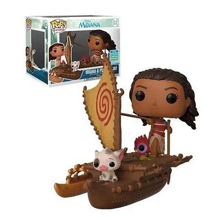 Funko Pop! Rides: Disney Moana - Moana & Pua on Boat (2019 Summer Convention) #62