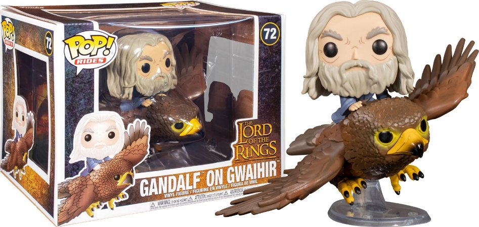 Funko Pop! Movies: Lord of the Rings - Gandalf on Gwaihir  #72