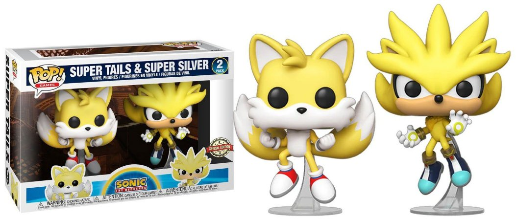 Funko Pop! Games: Sonic The Hedgehog - Super Tails & Super Silver #2