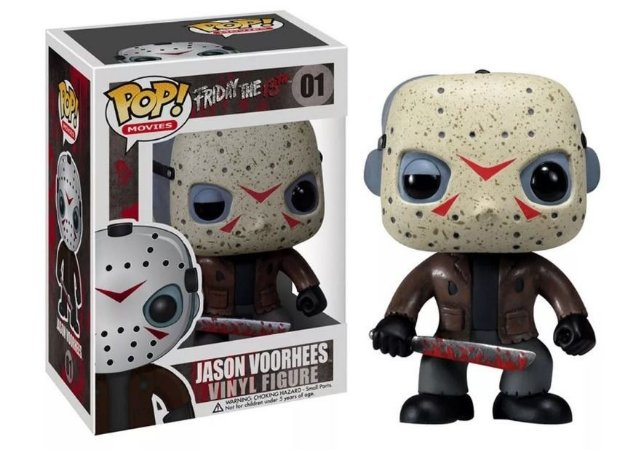 Funko Pop! Movies: Friday the 13h - Jason Voorthees #01