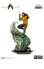 Aquaman: Aquaman DC Art Scale 1/10 - Iron Studios