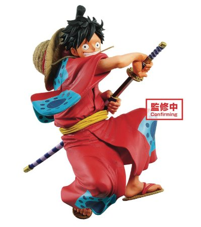 Monkey D. Luffy: One Piece (King of Artist) Saga de Wano - Banpresto