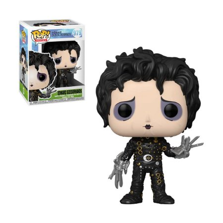 Funko Pop! Movies: Edward Scissorhands: Edward Mãos de Tesoura (Edward Scissorhands)  #979
