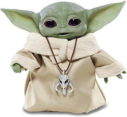 Star Wars - The Child (Baby Yoda) Animatronic Inspirado na Série The Mandalorian - F1119 - Hasbro
