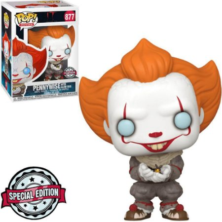 Funko Pop! Pennywise With Glow Bug #877 It Capítulo 2