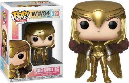 Funko Pop! Wonder Woman Gold Power (Metallic) - Wonder Woman 1984 - #323