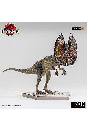 Dilophosaurus - Jurassic Park - Art Scale 1/10 - Iron Studios