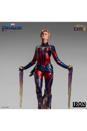 Captain Marvel - Avengers: Endgame - Bds Art Scale 1/10 - Iron Studios