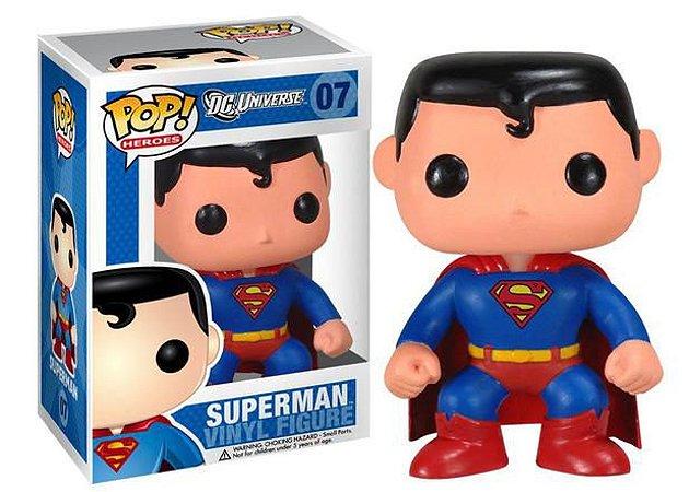 Funko Pop! Dc Super Heroes - Superman #07