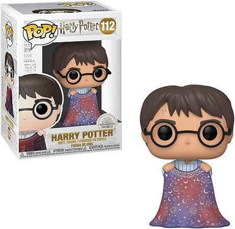 Funko PopQ Harry Potter Invisibility Cloak (capa de invisibilidade) #112 - Harry Potter