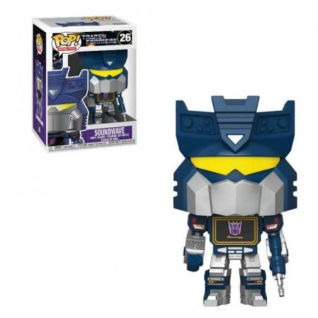 Funko pop! Transformers - Soundwave #26
