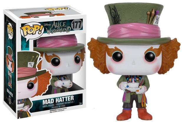 Funko Pop! Chapeleiro Louco - Mad Hatter - Disney - Alice in Wonderland  #177