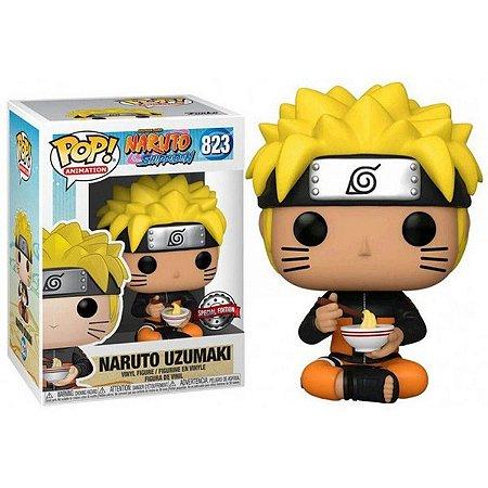 Funko Pop! Naruto Shippuden - Naruto Uzumaki Eating Ramen 823