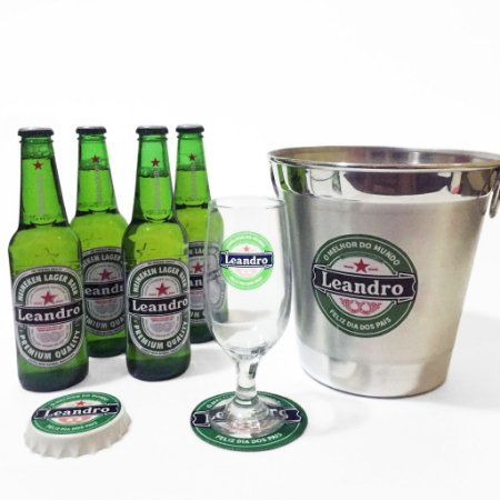 Kit cervejeiro com 4 cervejas