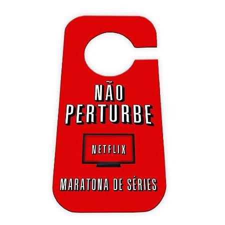 Aviso de porta Netflix
